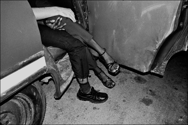 "Margo Berdeshevsky ""CHEVY LEGS""  [for the sex and the music—Havana, Cuba]"